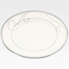 Platinum Wave Butter Dish