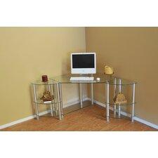 Corner Computer Desk with Dual Modular Extenstion