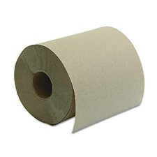 Hard-wound Roll Towel in Brown