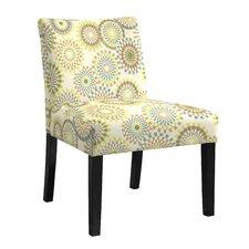 Nate Multi-Colored Slipper Chair