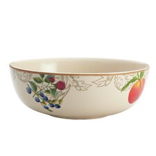 "Orchard Harvest Stoneware 10.5"" Serving Bowl"