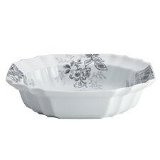 "Shaded Garden 10.5"" Porcelain Serving Bowl"