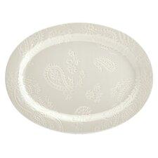"""Paisley Vine 14"""" Oval Platter"""