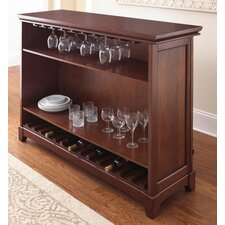 Martinez Bar with Wine Storage