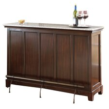 Newbury Counter Bar with Wine Storage