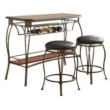 Greensboro 3 Piece Pub Table Set
