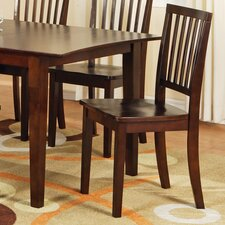 Branson Side Chair in Multi-Step Rich Espresso (Set of 2)