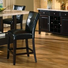 """Monarch 24"""" Bar Stool with Cushion (Set of 2)"""