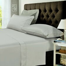 400 Thread Count Egyptian Cotton Percale Deep Pocket Sheet Set