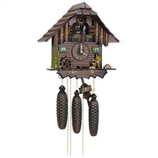 "12.5"" 8-Day Movement Cuckoo Clock with Wood Chopper"
