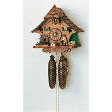 Forest House Wall Clock