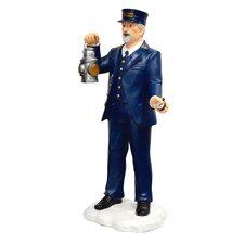 Conductor Door Greeter Statue