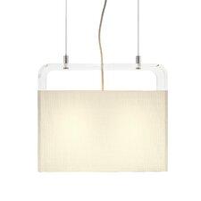 Tube Top 2 Light Pendant