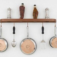 """Sterling 34"""" Wall Mounted Pot Rack"""