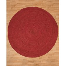 Brussels Jute Hand Woven Natural Area Rug