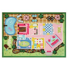 Dollhouse Play Area Rug