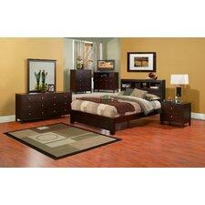 Solana Storage Platform Customizable Bedroom Set