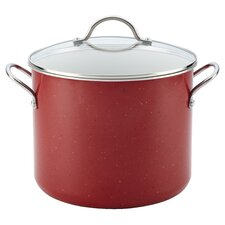Ceramic Cookware 12-qt. Stock Pot with Lid