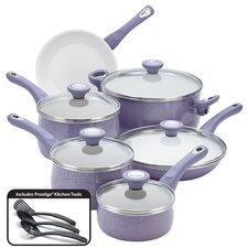 Ceramic Cookware Speckled Nonstick 14-Piece Cookware Set