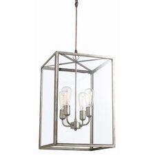 Savannah 4 Light Foyer Pendant