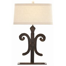 "Blackburn 29"" H Table Lamp with Oval Shade"