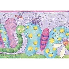 """Whimsical Children's Vol. 1 15' x 9"""" Bug Border Wallpaper"""
