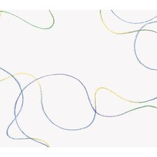 """Whimsical Children's Vol. 1 Squiggles 20.5' x 33"""" Abstract Wallpaper"""