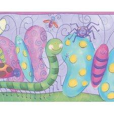 "12' x 6"" Wallpaper Bugs Border Wallpaper"