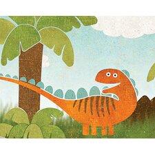 """12' x 6"""" Dinosaur Border Wallpaper"""