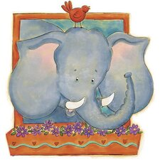Elephant Panel Wall Mural