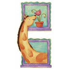 Giraffe Panel Wall Mural