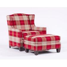 Home Terrain Simon Arm Chair and Ottoman