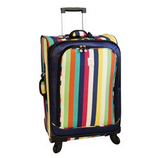 "25"" Multi Stripes 360 Quattro Spinner Suitcase"