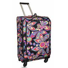"Wild Flower 360 Quattro 25"" Upright Spinner Suitcase"