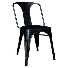 AmeriHome Metal Side Chair (Set of 2)
