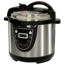 AmeriHome 6-Quart Electric Pressure Cooker