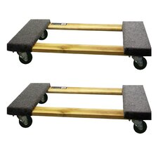 """3.5"""" x 18.5"""" x 30"""" Furniture Dolly (Set of 2)"""