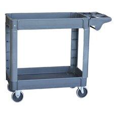 Pro Series 2 Shelf Heavy Duty Utility Cart