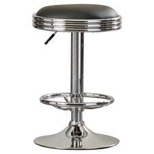 Clarell Adjustable Height Swivel Bar Stool with Cushion