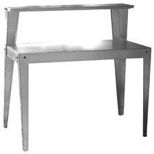 "Multi Use Galvanized 44"" Steel Top Workbench"