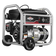 3,500 Watt Portable Generator with Recoil Start and Wheel Kit