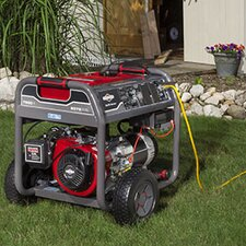 7,500 Watt Elite Series Portable Generator with Electric Start and Wheel Kit