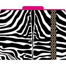 Functional File Folders Zebra