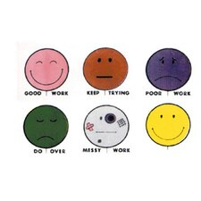 Grading Stamps Smile Balloons (Set of 6)