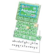Manuscript Alphabet Stamp 1