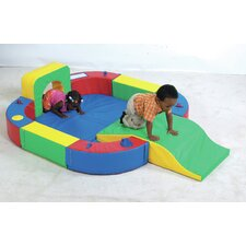 Playring with Tunnel and Slide