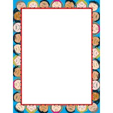 Smiling Stick Kids Computer Paper (Set of 2)