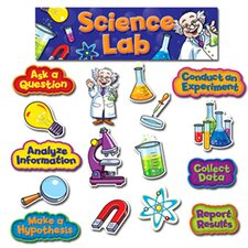 Science Lab Mini Bulletin Board Cut Out