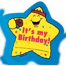 Star Badges Its My Birthday Award