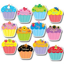 Cupcakes Jumbo Bulletin Board Cut Out